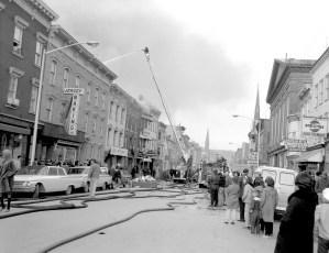 Hudson Fire Warren St. Good Friday Apr. 1965 (2)