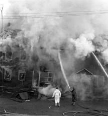 Mellenville Fire Rt. 217 Nov. 1962 (2)