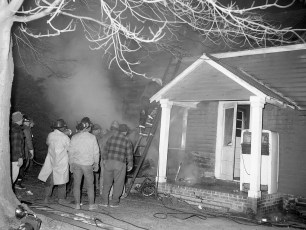 Stuyvesant Falls Fire Bortugno Dairy Farm tenant house Feb. 1968 (2)