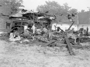 Tivoli Fire Fingar Poultry Farm June 1964