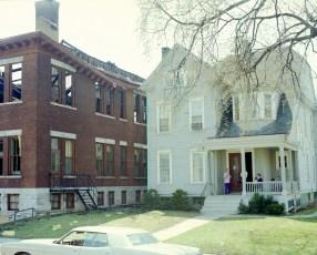 Hudson Fire St. Mary's Elementary 3rd & Allen Str. Apr. 1973 (5)