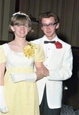 GCS Jr. Prom 1967 Seniors Sandra Lynk & Ken Clow