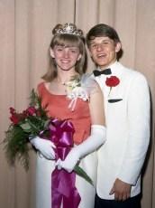 GCS Jr. Prom 1966 Queen Sandra Lynk King Jon Orr