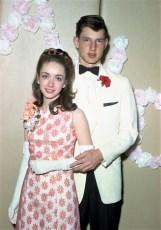 GCS Jr. Prom 1967 Claudia Larkins & Cookie Ovalle