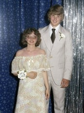 GCS Jr. Prom Evelyn Picicci & Thomas Griffin 1978