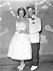 GCS Jr. Prom 1960 Nancy Yadack & Billy Simpson