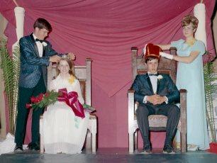 GCS Jr. Prom  1969 Queen Joan Lynk & King Joe Gaschel