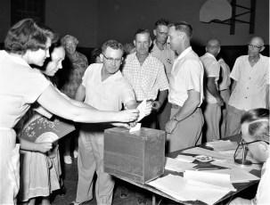 GCS Budget Vote 1957