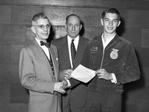 GCS Future Farmers of America Larry Diehl 1954
