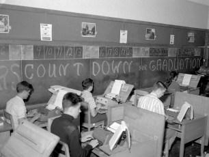 GCS Count Down for Graduation 1964