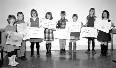 GCS Dental Week Poster Contest Winners 1967