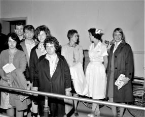 GCS Health Class tours Columbia Memorial Hospital 1964 (1)