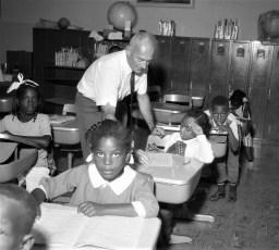 Migrant classes at GCS 1968 (2)