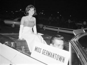 School Girl Queen Contestant Miss Germantown Santa Manuli 1966
