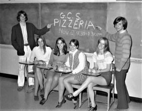 GCS Jr. Class Pizza Fund Raiser 1971