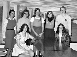 GCS Student Exchange  1972