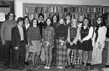 GCS Student Exchange Applicants 1973