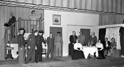 GCS Drama Workshop production Adult Play 1959