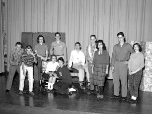GCS Senior Play Cast 1959