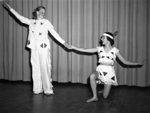 Ruth Miller Dancers at GCS 1950 (3)