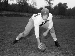 GCS 1955 Football David Rhudy