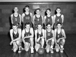 GCS 1953 Basketball JV Team
