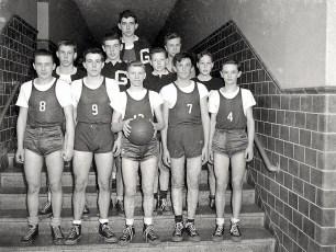 GCS 1948 Basketball Team