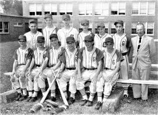 GCS 1961 J.V. Baseball
