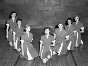 GCS 1953 Varsity Cheerleaders
