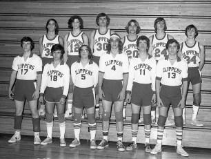 GCS Volleyball Team with Coach Joyce Rockefeller 1978 (1)