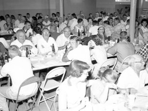 First Clambake at New Firehouse 1958 (2)