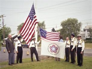 G'town Hose Co. Memorial Day Flag Dedication 1976