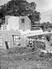 G'town Hose Co. firehouse construction 1957 (2)