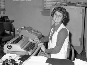 Gail Decker  G'town Telephone Co. 1974