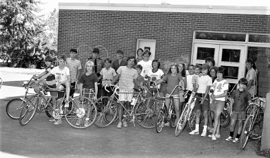 Bike Safety & Inspection by Dep. Sheriff Ted Chidester Greenport School 1972 (1)