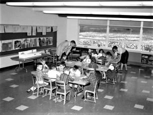 Greenport School New Addition 1962