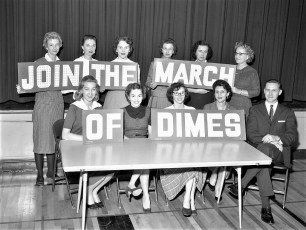 March of Dimes Greenport School 1960