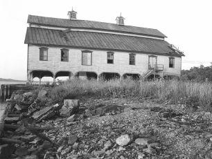 Half Moon Anchorage year before razed 1957
