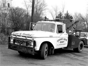 Copake Auto Body tow truck 1966