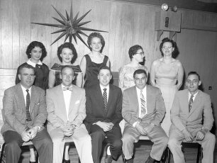 Copake Rescue Squad members at Annual Banquet 1960