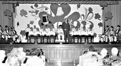 Roe Jan Lions stage show Hillsdale 1964 (1)
