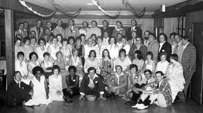 Hudson High Class of 1956 Reunion 1976