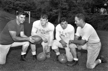 Hudson High School Captains & Coaches 1956