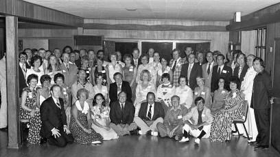 Hudson High School Class of 55 Reunion 1975