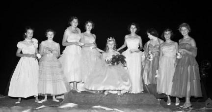 Hudson High School Homecoming 1954 (1)