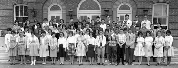 Hudson High School Senior Class 1962 (1)