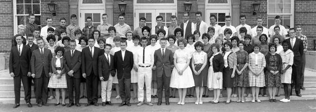 Hudson High School Senior Class 1962 (2)