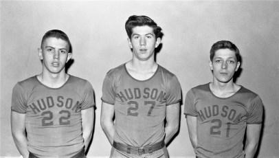 Hudson High School Varsity Basketball 1957 (3)