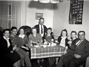 Miller & Simmons group at Central House 1947