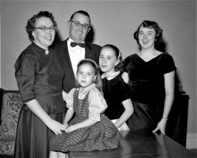 Ben and Betty Bartolotta Family 1956